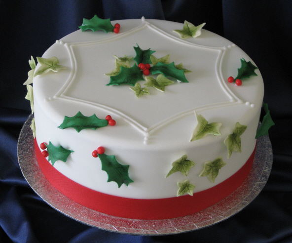 All Things Christmas Christmas Cakes to Grab ~ 073633_Cake Decoration Ideas Xmas