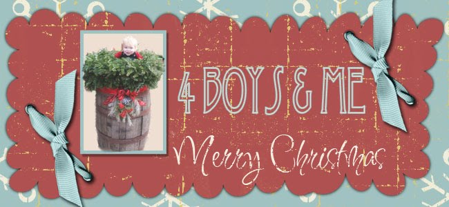 Four Boys and Me!