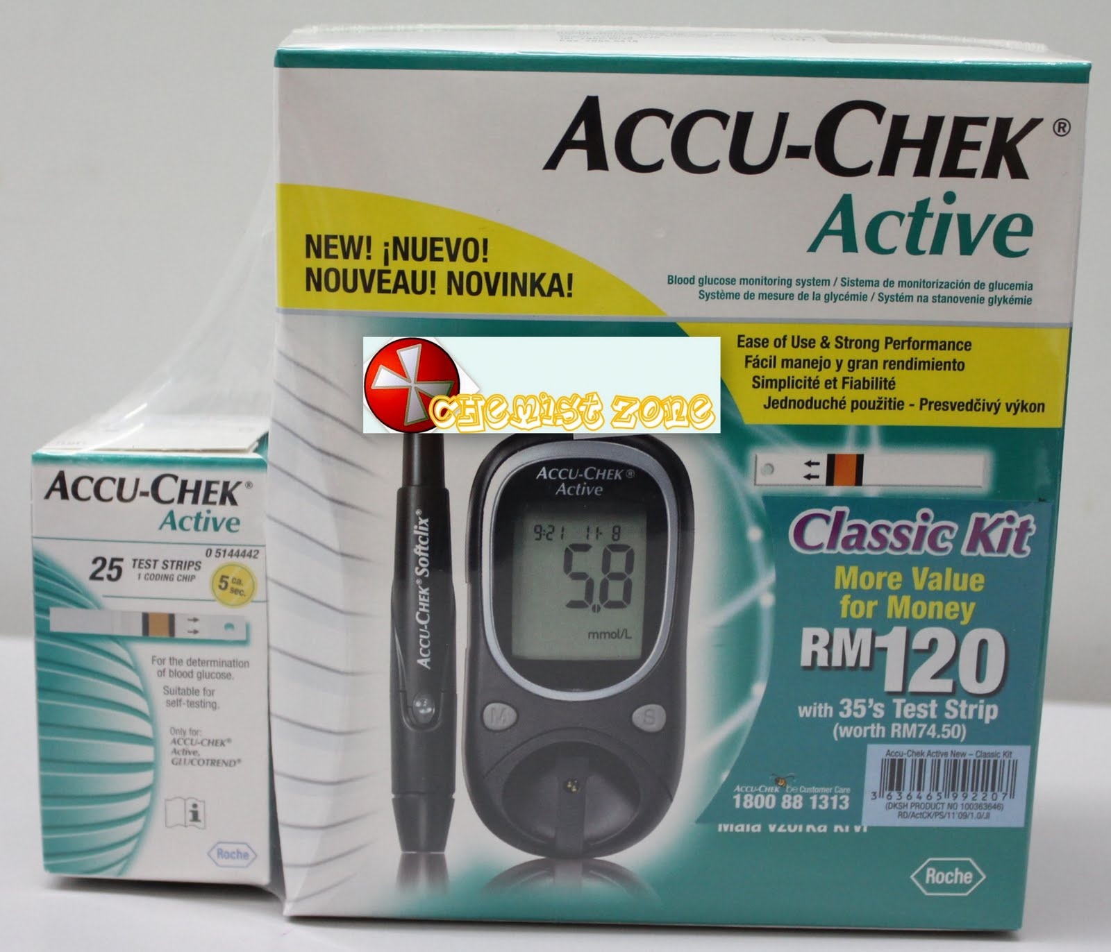Chemist Zone Blood Glucose Monitoring