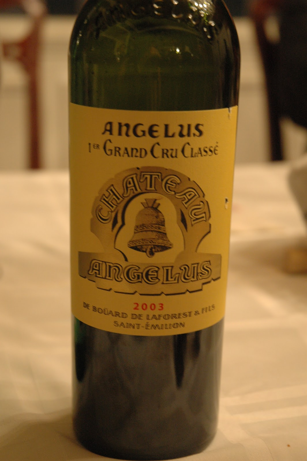 Chateau Angelus  1995 Bordeaux Red Blends Wine Red Blends Wine