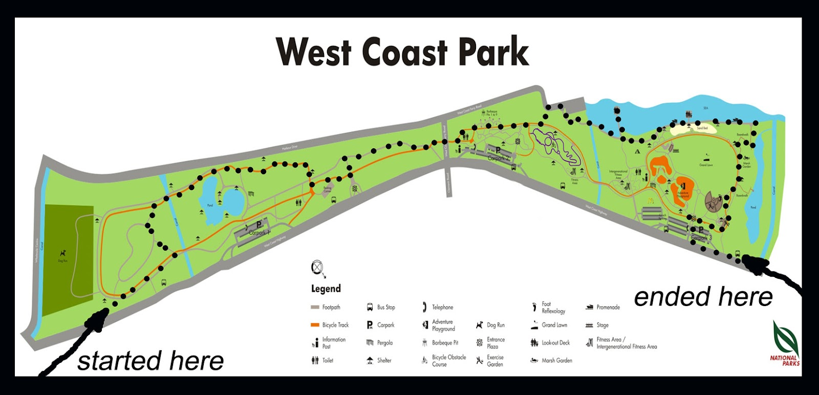 our life in Singapore a walk thru West Coast Park