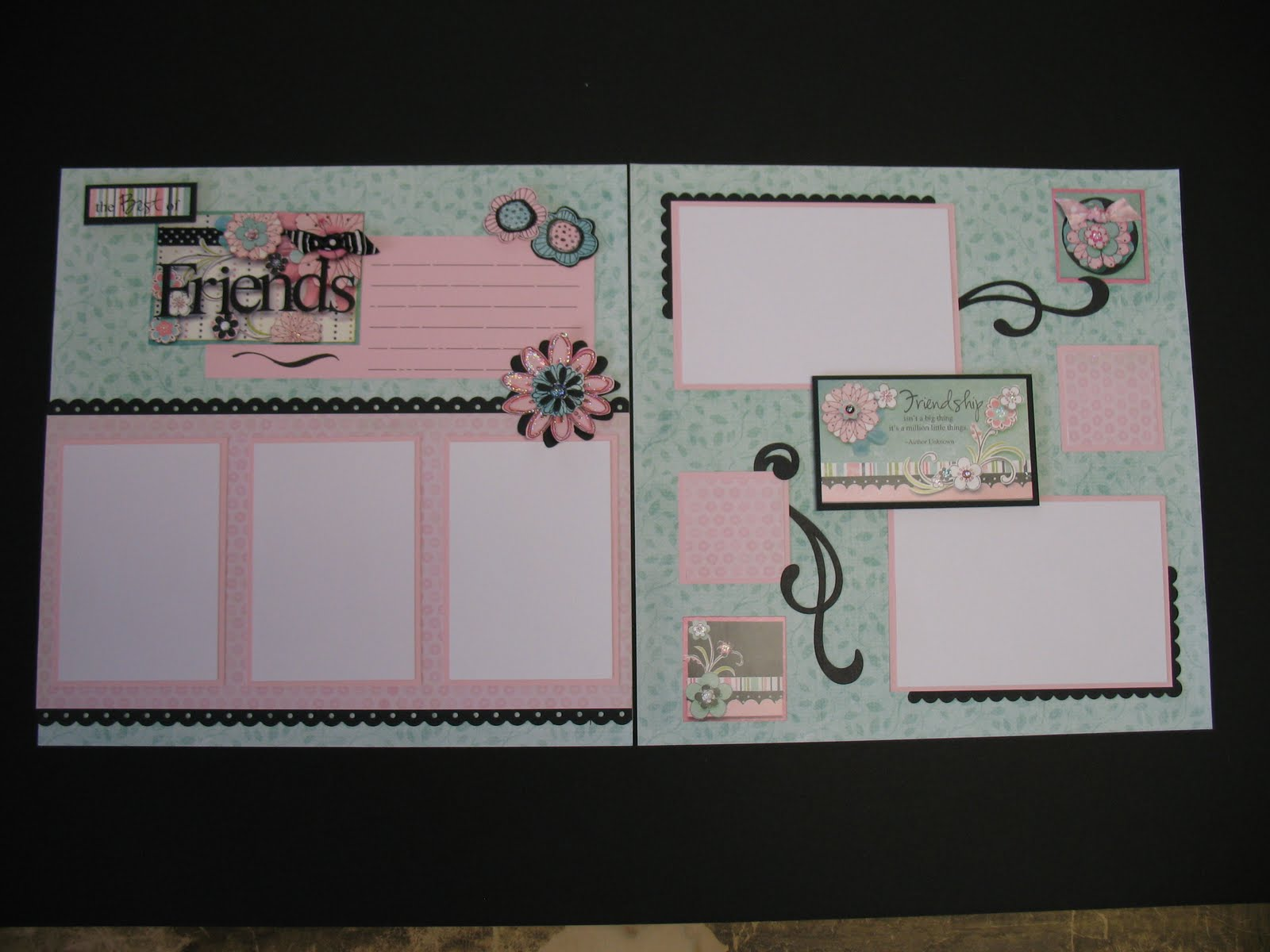 Greetings From Gail Scrapping With Friends Scrapbooking Class At