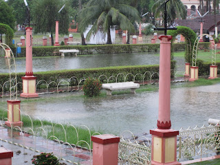 After a thunderstorm in Mayapur