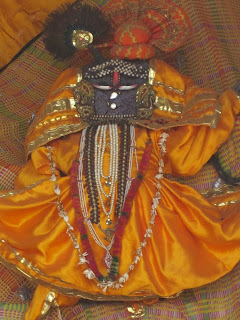Giriraja somewhere on Govardhana Hill