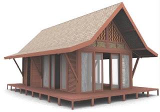 nukilan ilham koleksi rumah kayu idaman