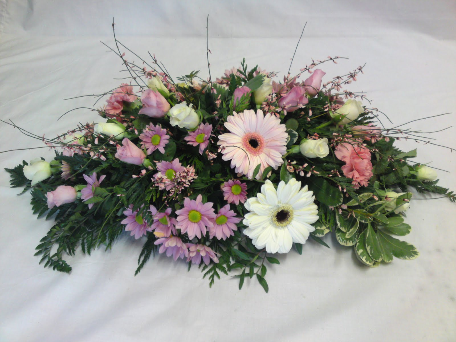 Rjs Florist Pink And White Wedding Flowers