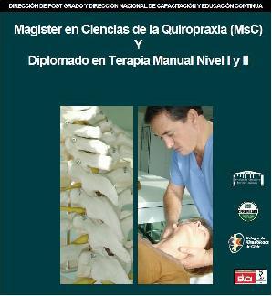 Magister en ciencias de la Quiropraxia