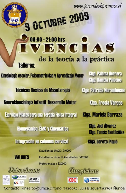 jornadas Kinesiología UMCE