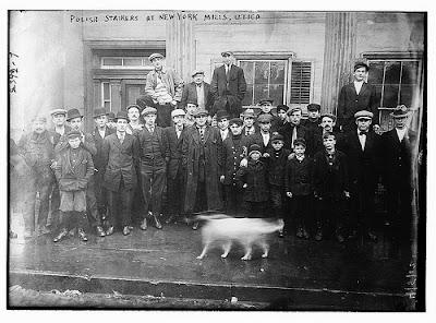 Polish Workers Strike, New York