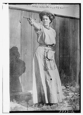 Woman get your gun