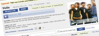 facebook, reverbnation, music promotions