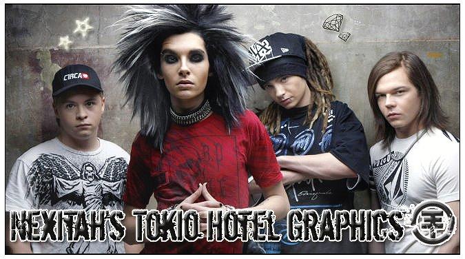 Nexitah's Tokio Hotel Graphics