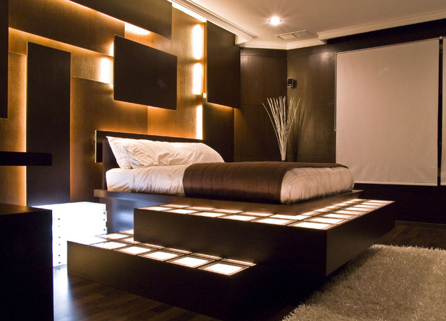 Comfortable Bedroom - Home Design Ideas and Alternative