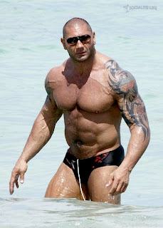 wrestle mania star Batista hot picture