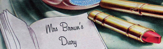 Mrs Brown&#39;s Diary