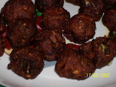 Chicken Masala  Balls