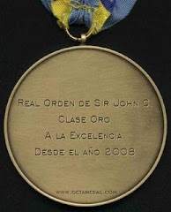 Medalla de la Real Orden de Sir John C.