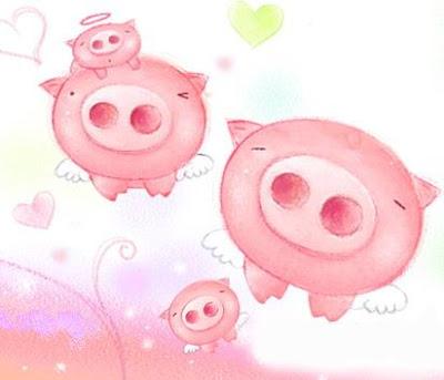 豬豬圖大全: 小豬快來臨