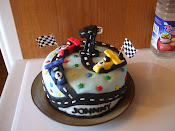 1st birthday race car theme