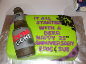 Beer Cake It All Started with a beer 25 years ago