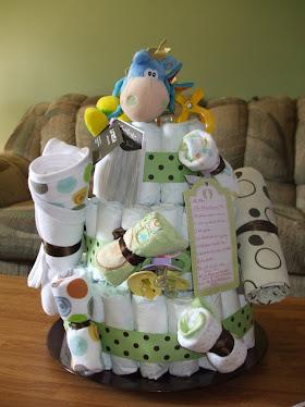 Full Diaper Cake