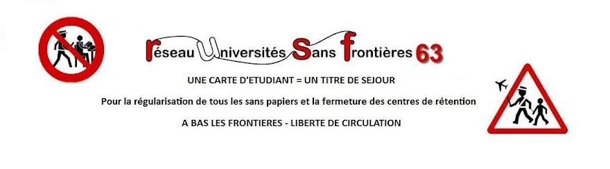 Réseau Universités Sans Frontières 63