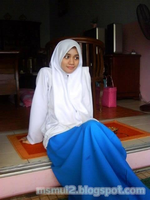 Malay Budak Sekolah Menengah Dalam Kelas