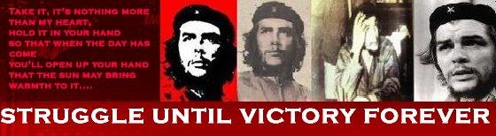 STRUGGLE UNTIL VICTORY FOREVER