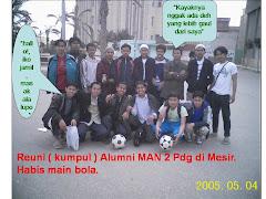 Alumni MAN 2 Padang di Egypt