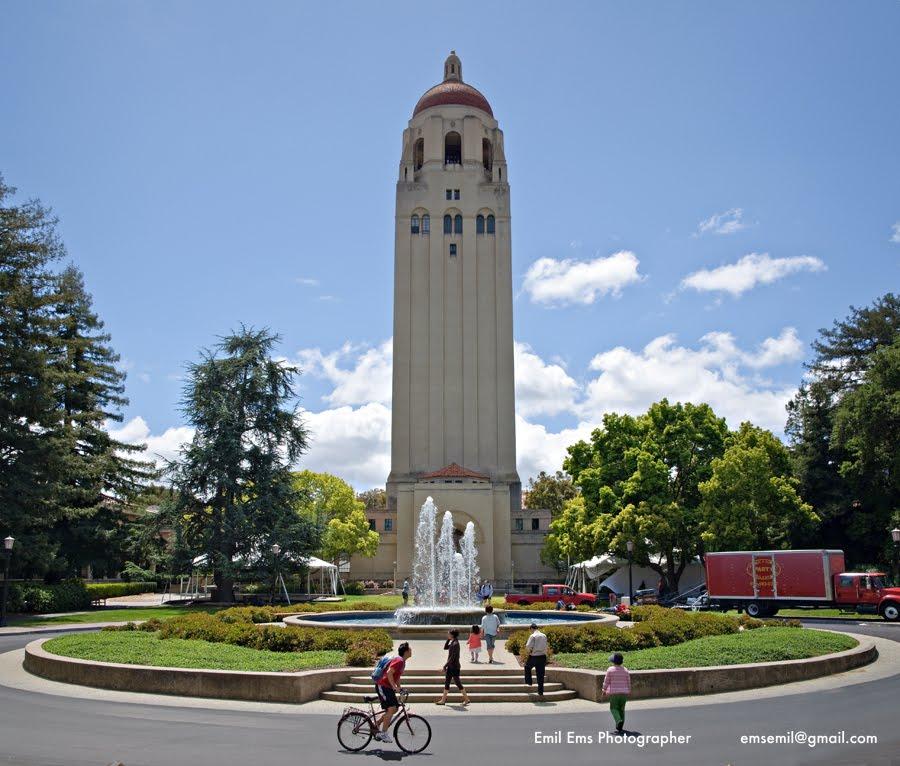 Hoover tower for Stanford motor inn palo alto