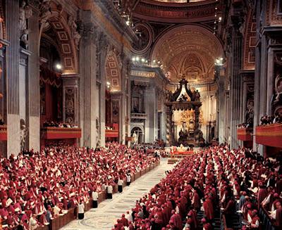 EL ANACRÓNICO FASTO DEL VATICANO Pio_XII_concilio-vaticano