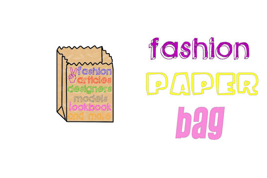 fashion paper bag
