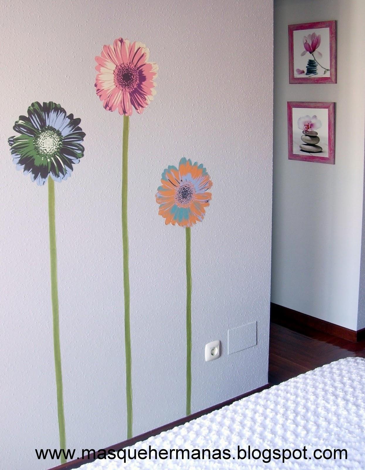 M s que hermanas vinilos y l minas decorativas for Vinilos pared gotele