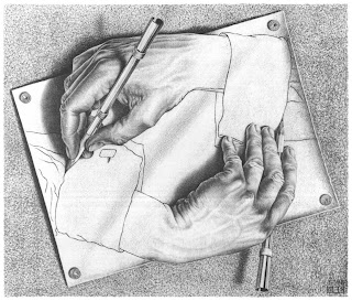 Drawing Hands [M.C. Escher]
