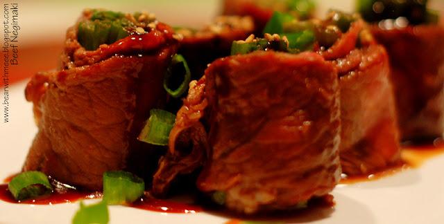 Beef Negimaki With Broccolini And Rice Recipe — Dishmaps