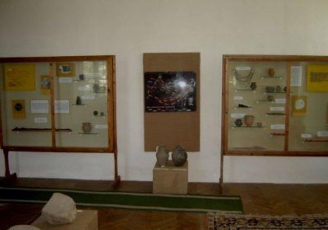 Sala muzeu cu date arheologice