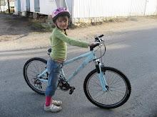 Glad for ny sykkel