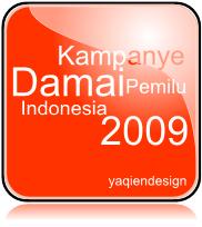 kampanye damai pemilu indonesia 2009 oleh www.yaqien.blogspot.com