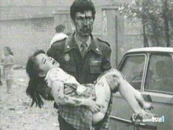 Atentado de ETA en el Cuartel G. C. Zaragoza