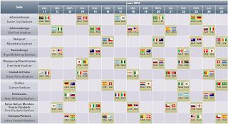 Programacion De Los Partidos Del Mundial Sudafrica 2010 ( Semifinal – Final )