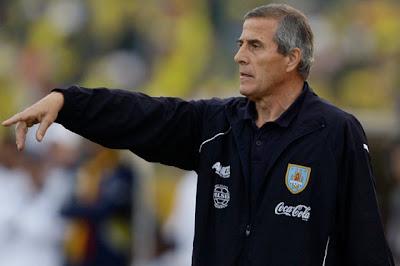 El Maestro Tabarez, Esta Listo Para El Debut De La Seleccion Uruguaya