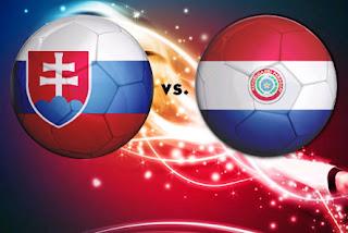 Goles partido Eslovaquia vs Paraguay