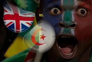 Resultado Partido Inglaterra vs Argelia