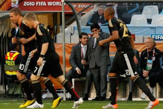 Goles partido Argentina vs Alemania