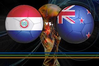 Resultado del partido Paraguay vs Nueva Zelanda – Empate 0 – 0