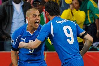 Goles Del Partido Italia vs Eslovaquia