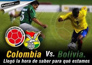 Ver Colombia Vs Bolivia Online en Vivo