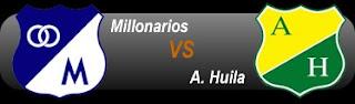 Ver Millonarios Vs Huila Online en Vivo – FPC Liga Postobon