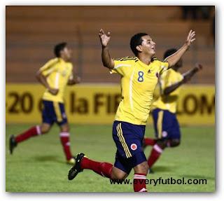 Resultado Partido Colombia (1) Vs Chile (3) – Sudamericano Sub 20