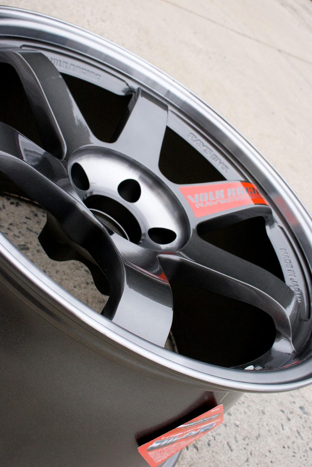 evo x volk wheels